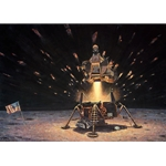 The Eagle is Headed Home - Lunar module by astronaut artist Alan Bean