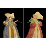 The Tie That Binds - friendship diptych by artist James Christensen