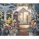 Greenhouse - at the garden center by floral artist Paul Landry