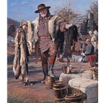 The Fur Trader by artist John Buxton