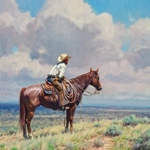 West Texas Cow Hunter by Martin Grelle