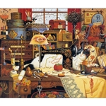 Maggie the Messmaker by Charles Wysocki