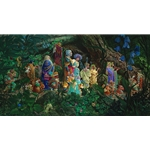 The Royal Processional by fantasy artist James Christensen