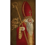 Saint Nicholas of Myra by artist James Christensen