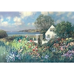 ~ Cottage by the Sea by artist Paul Landry