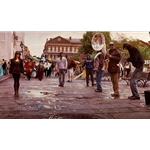 New Orleans by artist Steve Hanks