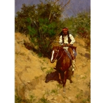 Apache Scout by Howard Terpning