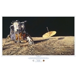 ~ Home Sweet Home - lunar module on the moon by astronaut artist Alan Bean