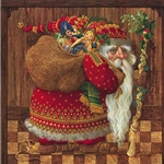 Olde World Santa by artist James Christensen