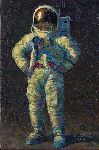Feelin' Fine by astronaut artist Alan Bean