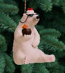 Cool Yule - Christmas Ornament by Will Bullas
