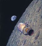 Homeward Bound by astronaut artist Alan Bean