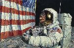 Straightening Our Stripes by astronaut artist Alan Bean