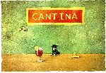 a little sangria - little dog in the cantina by Will Bullas