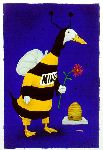 Please Bee Mine by by comedic artist Will Bullas