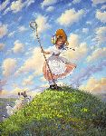 Little Bo Peep by Scott Gustafson