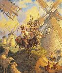 Don Quixote by Scott Gustafson