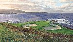 The 7th Hole Pebble Beach Golf Links by Linda Hartough