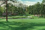 "The 15th Hole ""Firethorn"" Augusta National Golf Club by Linda Hartough"
