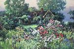 Cottage Garden by Paul Landry