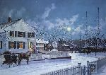 Christmas at Mystic Seaport by Paul Landry