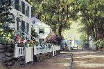Southport - summertime street by Paul Landry