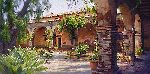 The Mission at San Juan Capistrano by June Carey