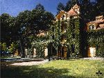 Niebaum-Coppola Winery - Inglenook Chateau, Napa Valley by artist George Hallmark