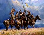 Gathering Storm by western artist Martin Grelle