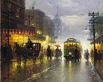 The Broadway Trolley by G. Harvey