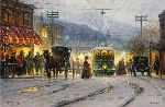 Pike's Peak Trolley (Colorado Springs) by G. Harvey