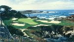 The 15th at Cypress Point by Larry Dyke