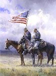 Tribute- Cavalrymen remember by western artist Martin Grelle