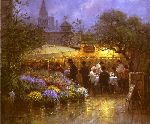 Market Cafe by G. Harvey