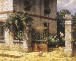 Morning - House in France by Classic artist George Hallmark