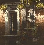 Rue Dauphine ~ New Orleans home by artist George Hallmark