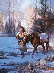 Coldmaker Morning by western artist Martin Grelle