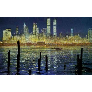 The Glisten of New York by Peter Ellenshaw